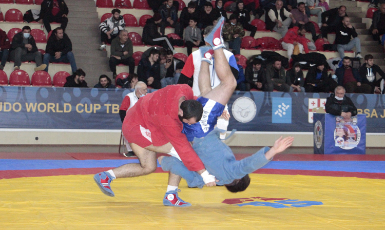 Georgian SAMBO Championships were held in new weight categories