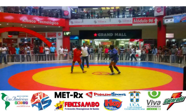 Demonstration of sambo in a shopping center of Nicaragua: new trend gains momentum