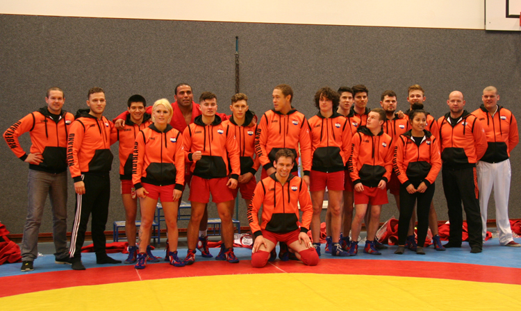 GROWING NUMBER OF CONTESTANTS AT THE DUTCH NATIONAL SAMBO CHAMPIONSHIP