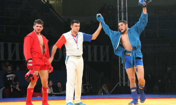The winners and prize-winners of the Cup of Russia in Combat Sambo-2013