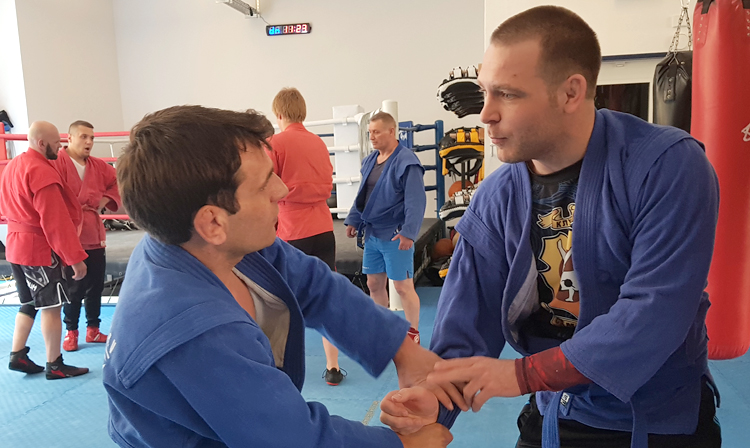 How Sambists of Germany Were Preparing For The European SAMBO Championships