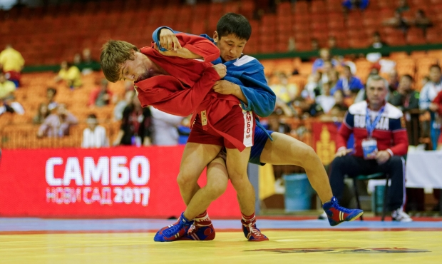 Live Broadcasting of the Youth and Junior World Sambo Championships 2017 in Serbia. Day 3. Finals