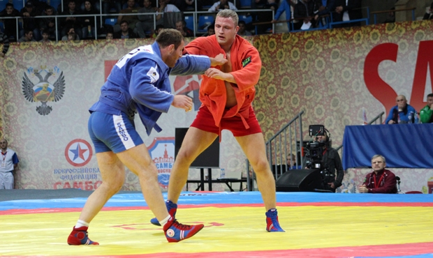 Winners and prize-winners of the second day of the Sambo World Cup Memorial of A. Kharlampiev