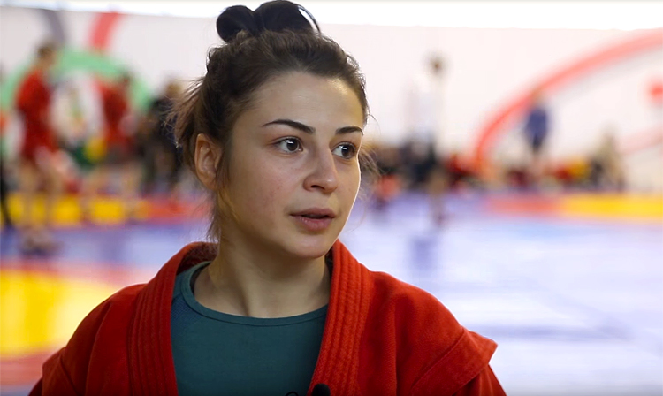 "[VIDEO] Leila Abbasava: ""SAMBO is number one on the list of what I have"""