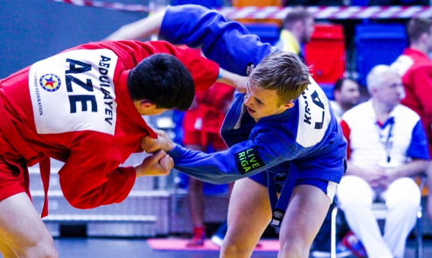 [VIDEO] SAMBO. Youth and Junior Championships 2017 in Prague. Day 2