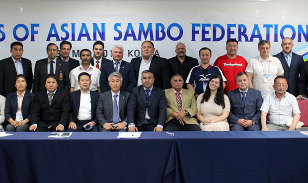 Asian SAMBO Federation Congress: increase in the membership and discussion of plans