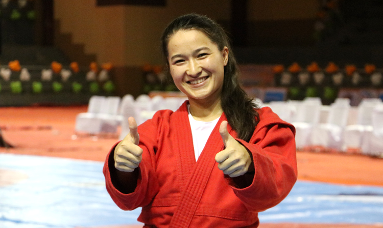 "Gulnur YERBOLOVA: ""The Advantage of SAMBO is the Fighting in Ground Position"""