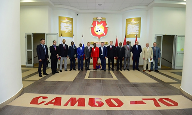 "Foreign Diplomats Learned about the Russian ""Sambo to Schools"" Project"