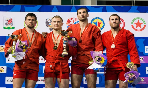 Results of the 2 day of the European Sambo Championships 2016 in Kazan