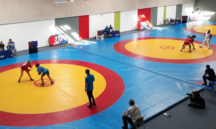 French University SAMBO Championships held in Marquis