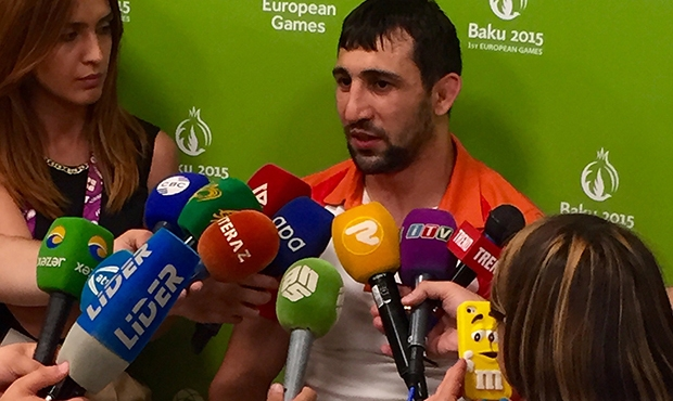 """Direct speech"": the brightest sambists' quotes at the I European Games in Baku 2015"