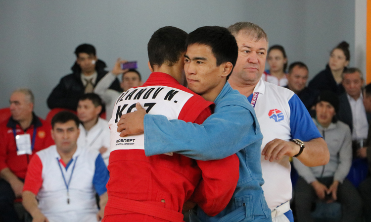 Reflections of the Winners of the 2nd Day of the International SAMBO Tournament in Kazakhstan