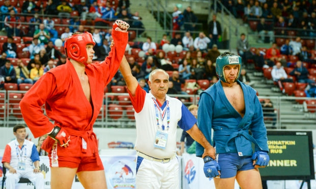 "Mikhail Mokhnatkin: ""It's become psychologically easier for me to perform in SAMBO tournaments"""