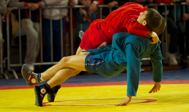For the first time in history - SAMBO for the cadets!