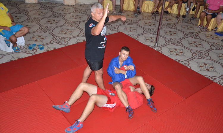 Seminar for SAMBO Referees and Coaches was Held in Ukraine