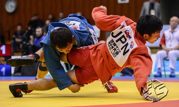 VIDEO: all 2014 World Sambo Championship finals in Japan