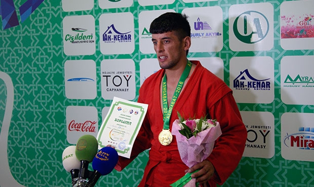 "Khamroz Radjabov: ""For me it is the first victory in a competition among adults"""