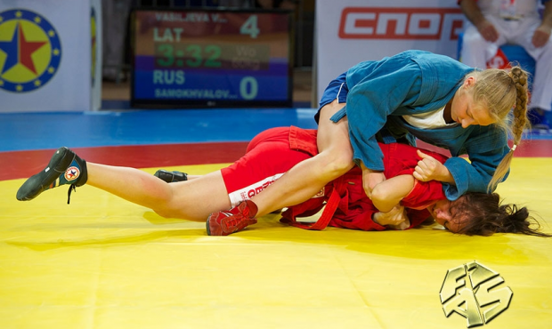 Open European SAMBO Championship among Cadets in Riga: Second Day of Competition
