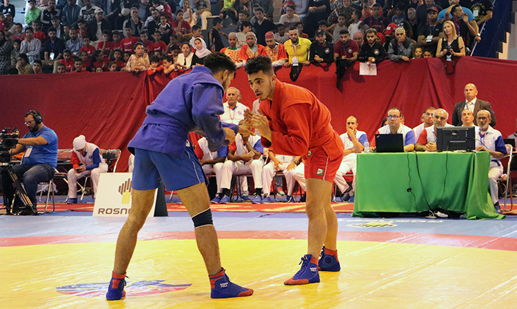 Reflections of the Prize-Winners of the 1st Day of the African SAMBO Championships in Morocco