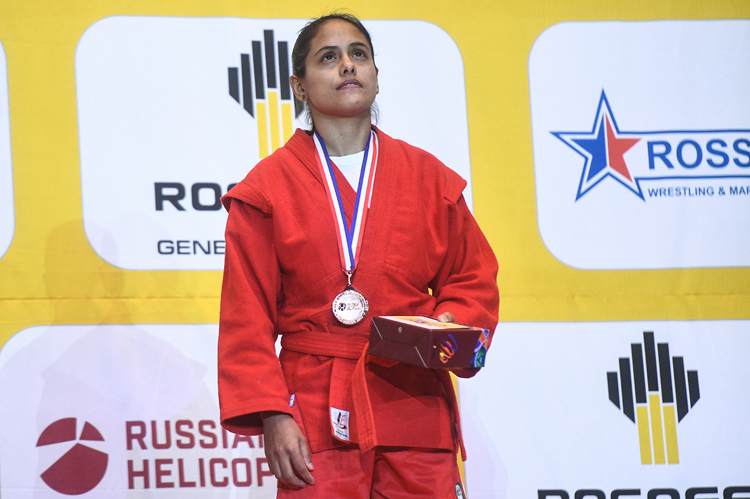 "Luisaigna CAMPOS: ""I Hope My Daughter Will Be an Olympic Champion in SAMBO"""