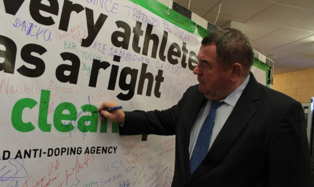"FIAS PRESIDENT ADDS HIS SIGNATURE FOR ""CLEAN SPORT"""