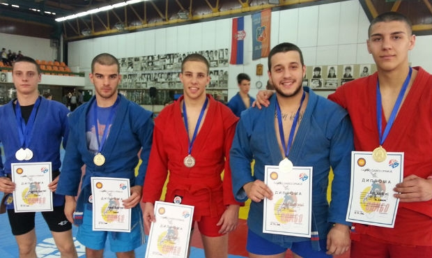 Routine gold and a strong comeback in the Serbian SAMBO Championship