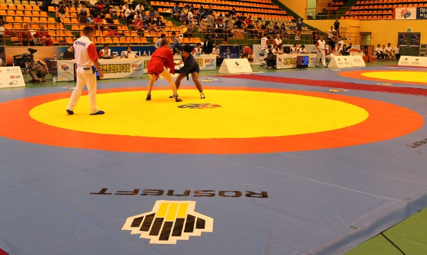 Interviews with winners of the 2nd FIAS President's SAMBO Cup