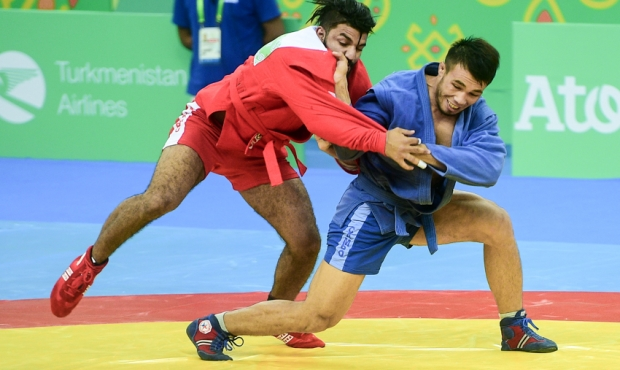 [FIAS TV] SAMBO at the Asian Games - Ashgabad 2017. Day 3