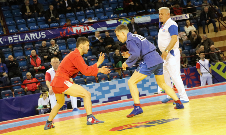 Draw of the 2nd Day of the International SAMBO Tournament in Minsk