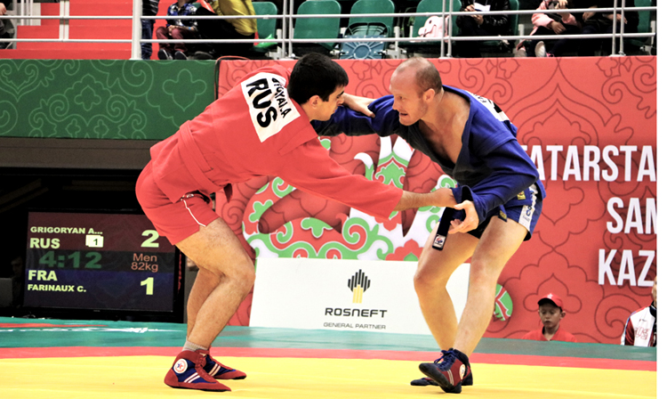 Reflections of the Winners of the 2nd Day of the International SAMBO Tournament in Kazan