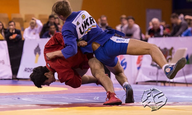 [FIAS TV] World Sambo Championship among Youth and Juniors in Riga 2015. Day 1