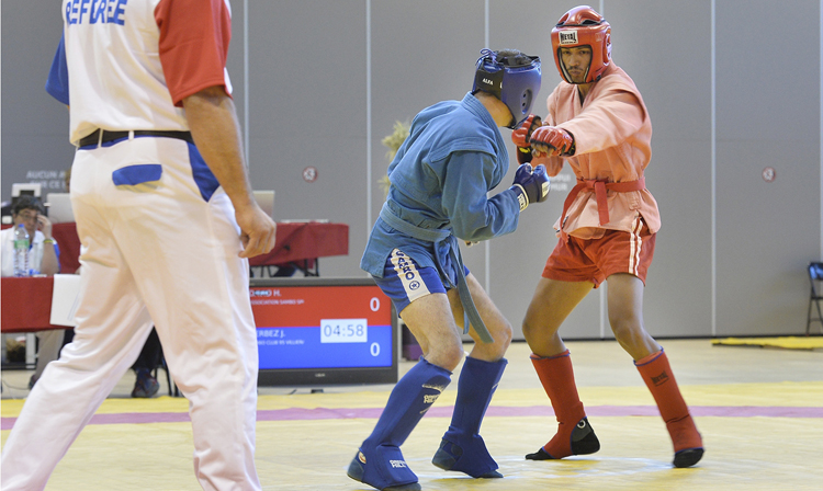 The French City of Ceyrat Became the Location for the National Combat SAMBO Championships