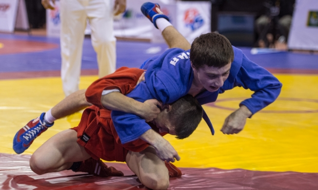 FIAS TV. World Sambo Championship among Youth and Juniors in Riga 2015. Day 2