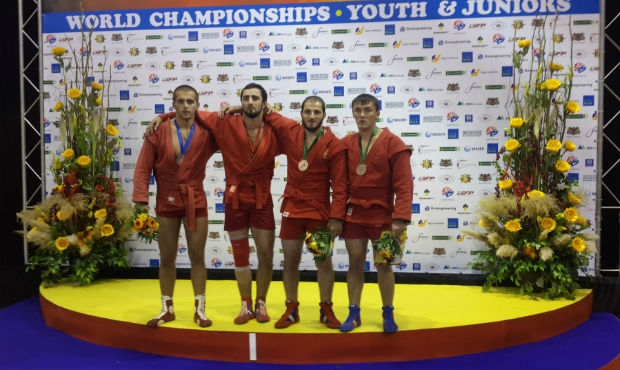 Winners and Prize-winners of the 1 Day of the World Sambo Championship among Youth and Juniors