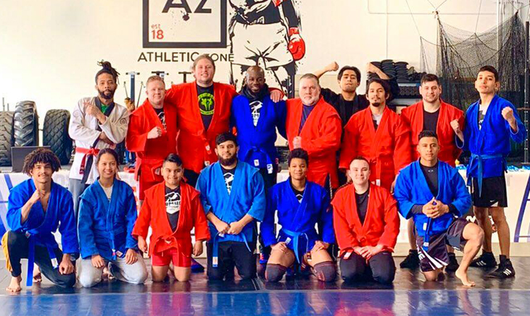 SAMBO League May Be Established in the USA
