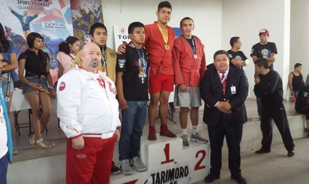 Guanajuato state of Mexico hosts the national sambo championship