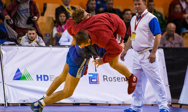 Winners and prize-winners of the Second Day of the World Sambo Championship among Youth and Juniors