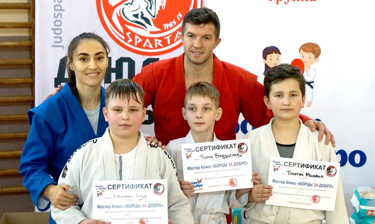 """Fighters for the Good"" held Master Class in Minsk"