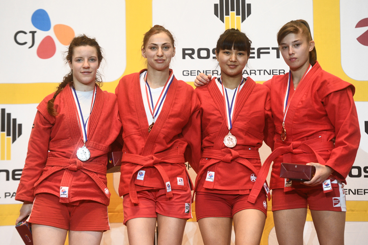 Reflections of the Winners of the 1st Day of the World SAMBO Championships in Korea