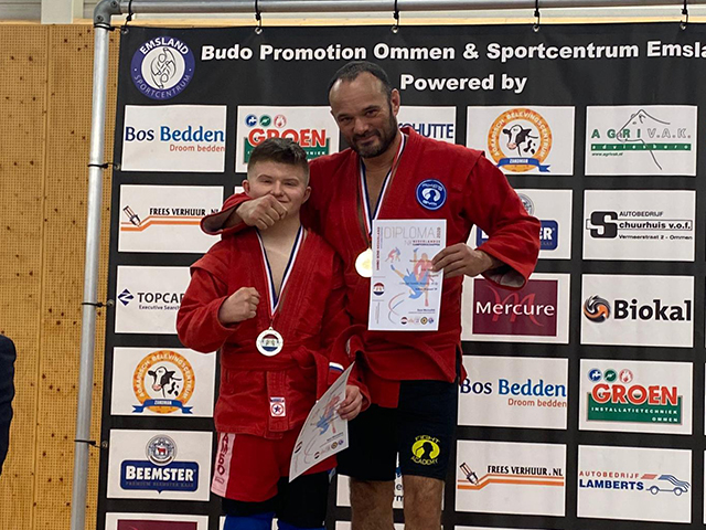 Adaptive Combat SAMBO Fight was held in the Netherlands