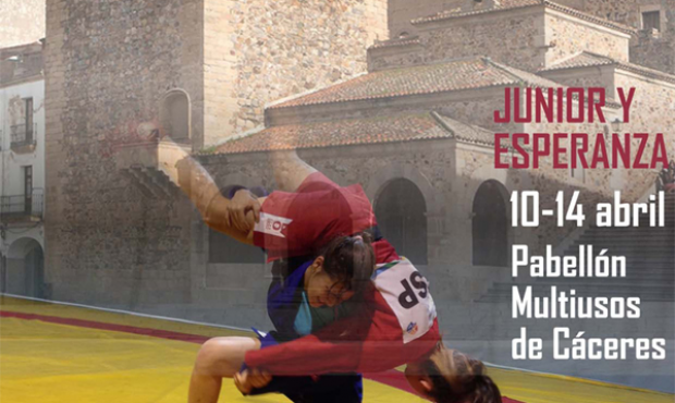 Poster of the European Sambo Championship among Youth and Juniors 2014 in Spain