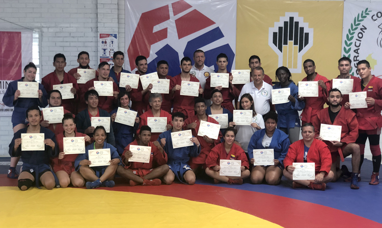 International SAMBO Training Camp ended in Colombia