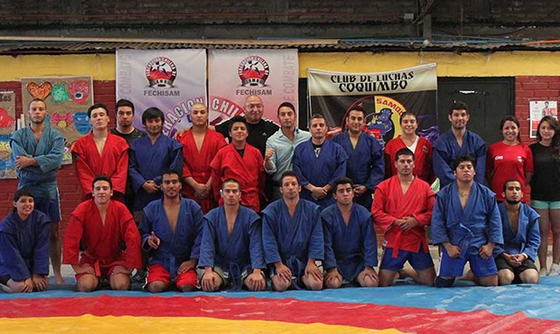 Competitive Course of Training Completed in Chile