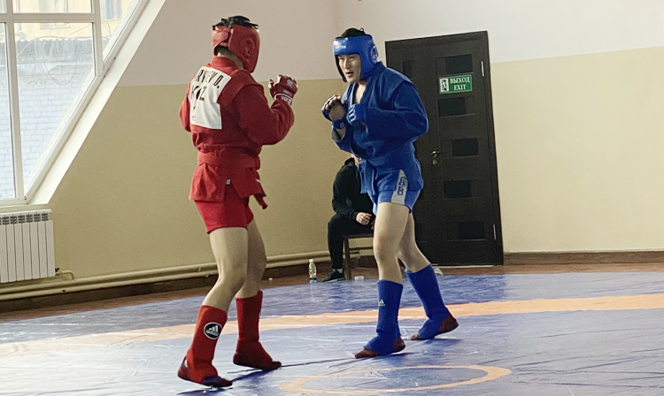 The Kyrgyz SAMBO Championships were held in the city of Osh