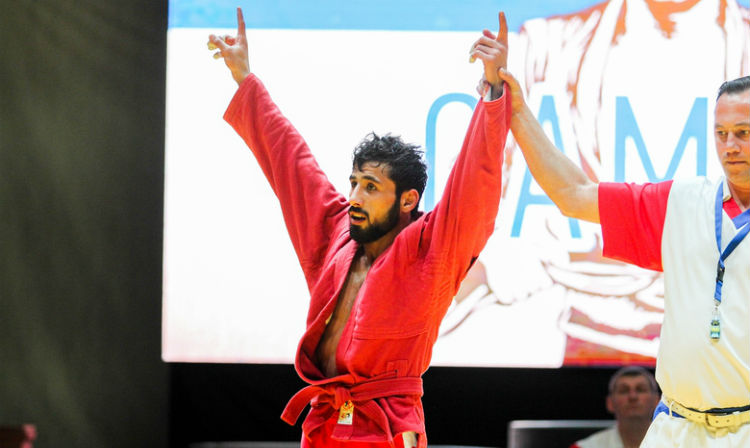 "Mekhman Khalilov: ""To Win The World SAMBO Championships Is My Primary Goal"""