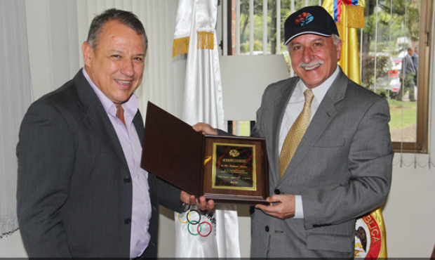 Olympic Support for the Columbian SAMBO