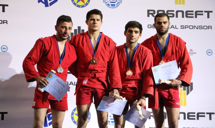 What The Prize-Winners Of The Second Day Of The European SAMBO Championships In Athens Were Talking About