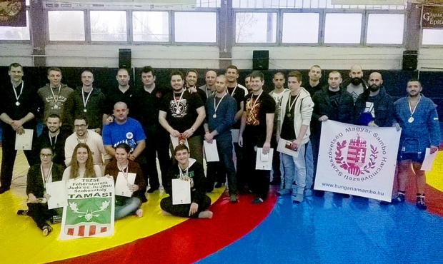 Sambo Championship in Hungary took place in Budapest