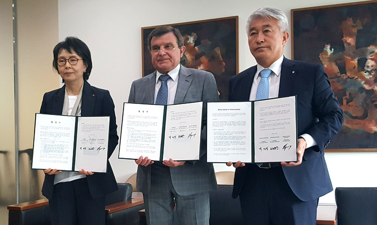 Agreement on Development of Korean SAMBO signed at Yong In University