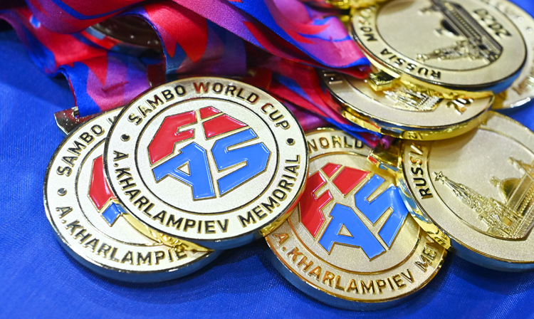"Winners of the 2nd Day of the World SAMBO Cup ""Kharlampiev Memorial"" 2020"
